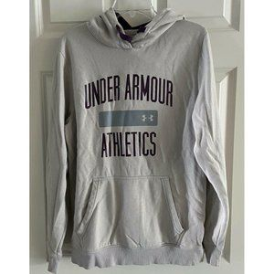 UNDER ARMOUR ATHLETICS Cold Gear Loose Hoodie M